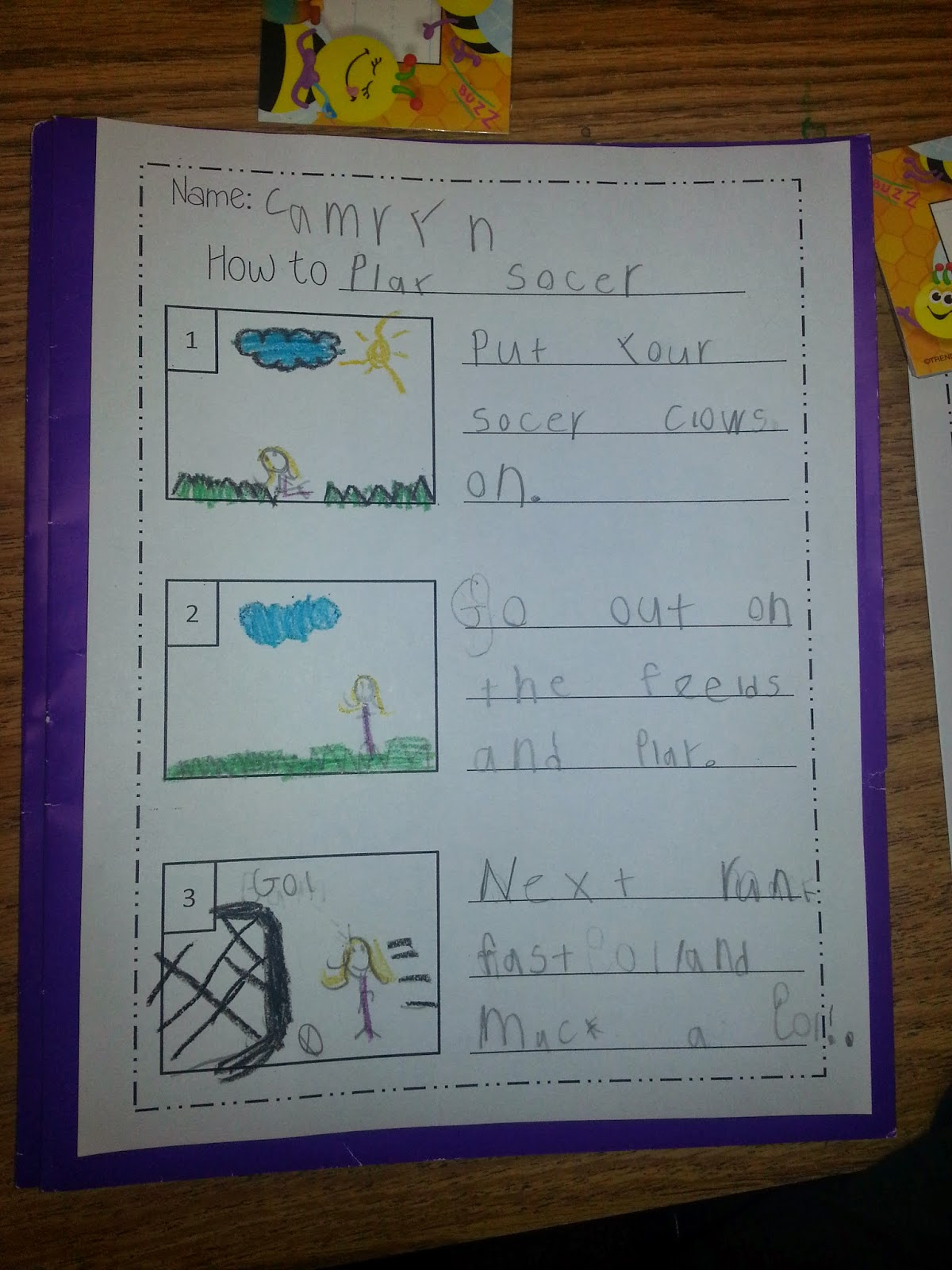 How to Writing in Kindergarten!