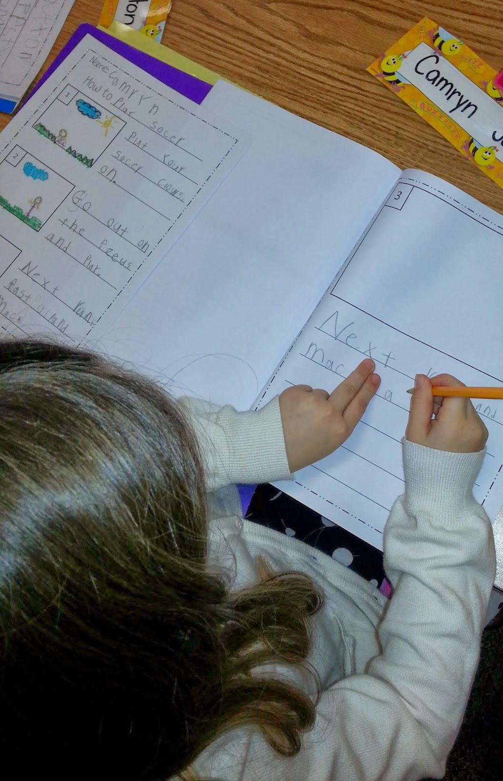 How to Writing in Kindergarten!