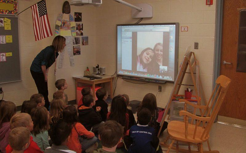 """""""Skype""""ing Around in Kindergarten!"""