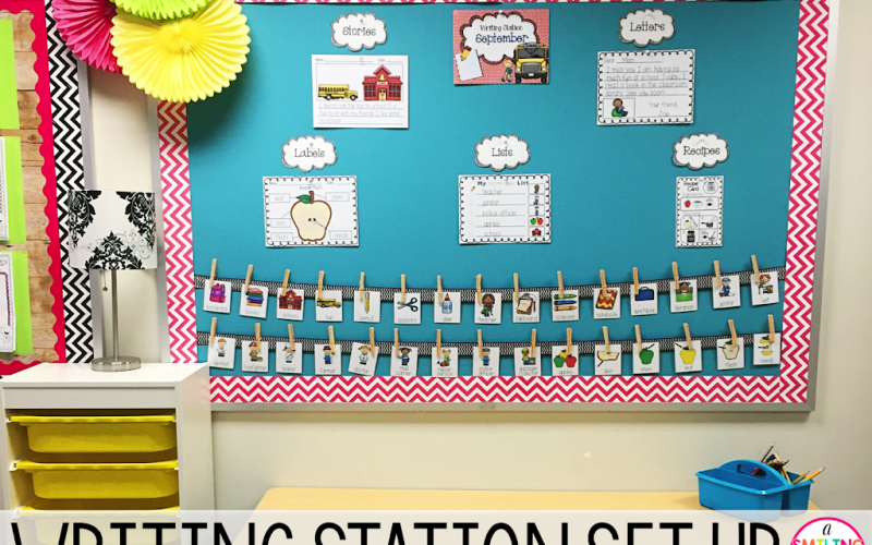 Setting Up Your Classroom Writing Station