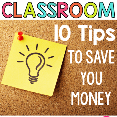 Building your Classroom on a Budget